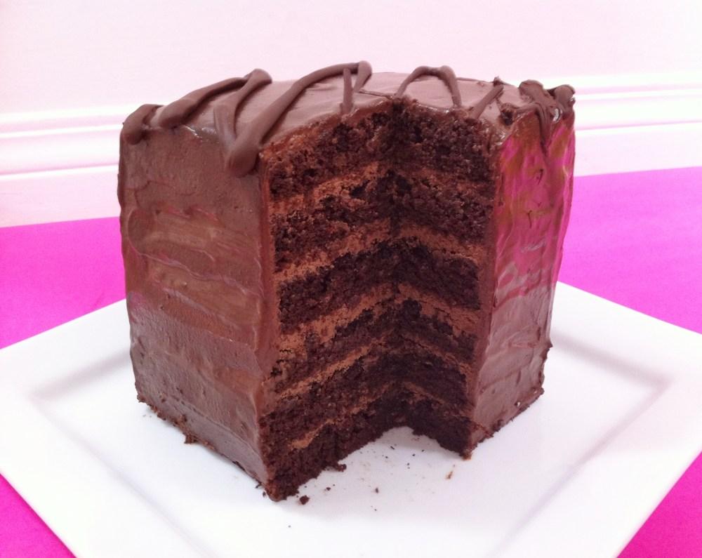 6 Layer Chocolate Cake  (2/5)
