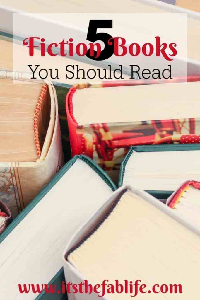 5 Fiction Books You Should Read | Fiction Books | Reading | Summer Reading | #fiction #reading #books