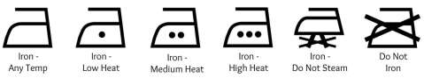 Laundry Symbols | Ironing Clothes
