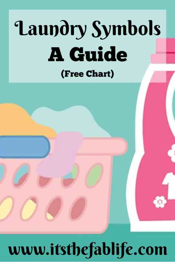 Laundry Symbols: What You Need to Know | A Guide to Laundry Symbols | Clothing Care Instructions | #washday #homemanagement #laundry