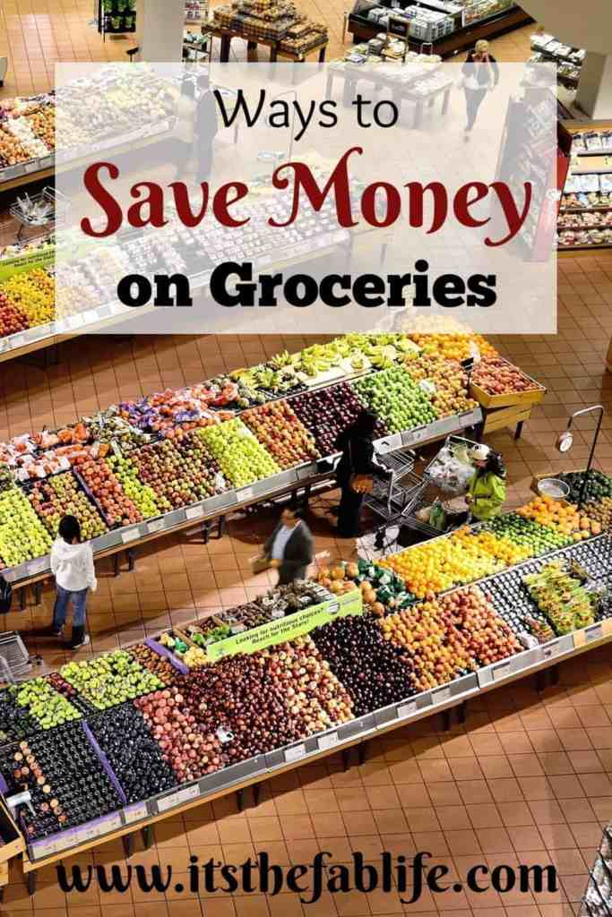 How to Save Money on Groceries | Tips to Save Money | Money Saving Guide | #savings #budgeting #groceries #savemoney