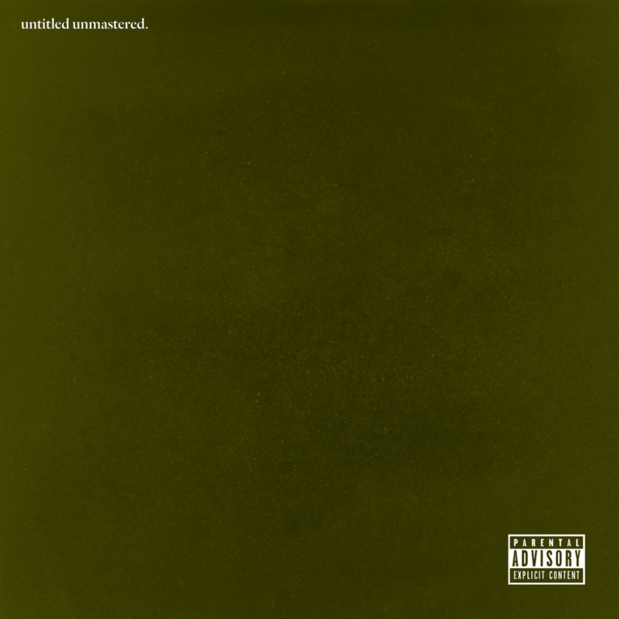 The Breakdown: Untitled Unmastered, by Kendrick Lamar