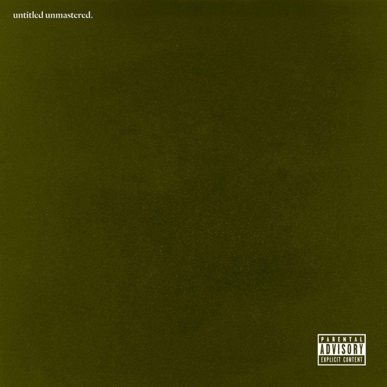 The Breakdown: Untitled Unmastered, by Kendrick Lamar