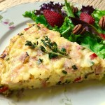 Cheesy Hashbrown & Ham Torte