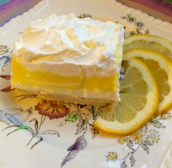Lemon Lush - Delicious Lemon Dessert