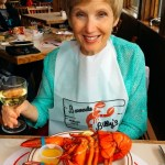 Cathy and lobster