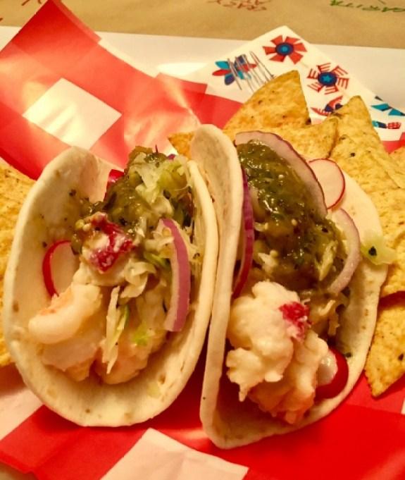 Lobster Street Tacos
