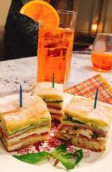 Italian Pressed Brick Sandwich