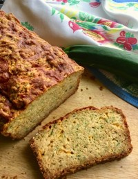 Cheddar Zucchini Bread