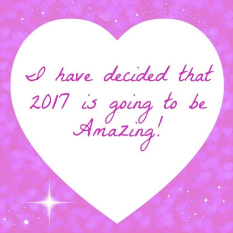 2017 is going to be amazing