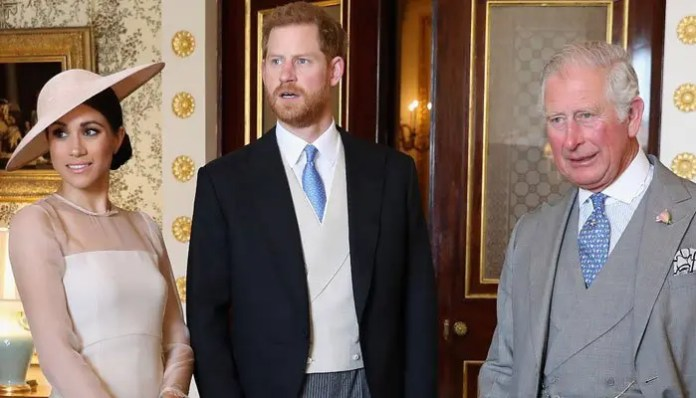Prince Charles is disappointed by Harry and Meghan