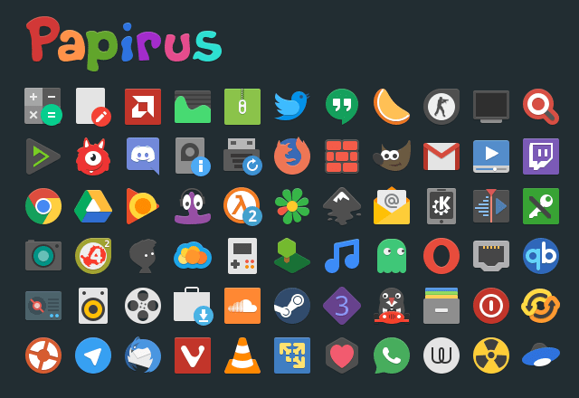 Install Papirus Icon Theme