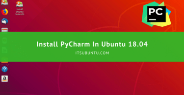 how to install pycharm in ubuntu 18.04