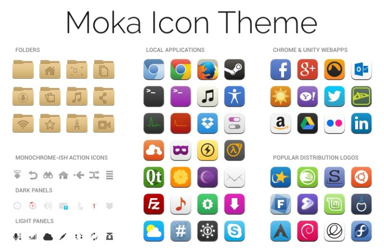 How To Install Moka Icon Theme In Linux