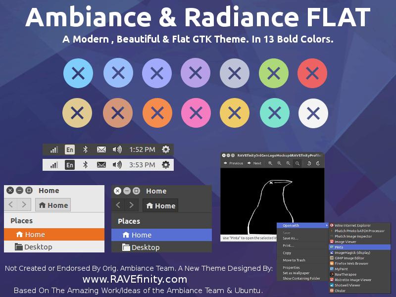 Ubuntu 18.04 LTS theme