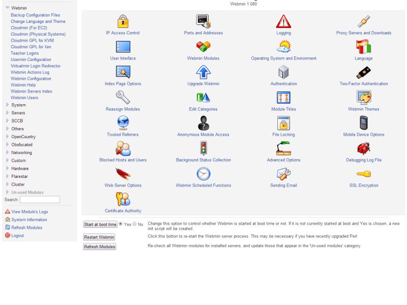 How To Install Webmin on Ubuntu 18.04