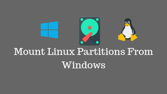 Mount Linux Partitions From Windows(1)