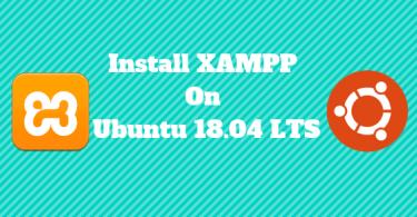 Install XAMPP On Ubuntu 18.04 LTS