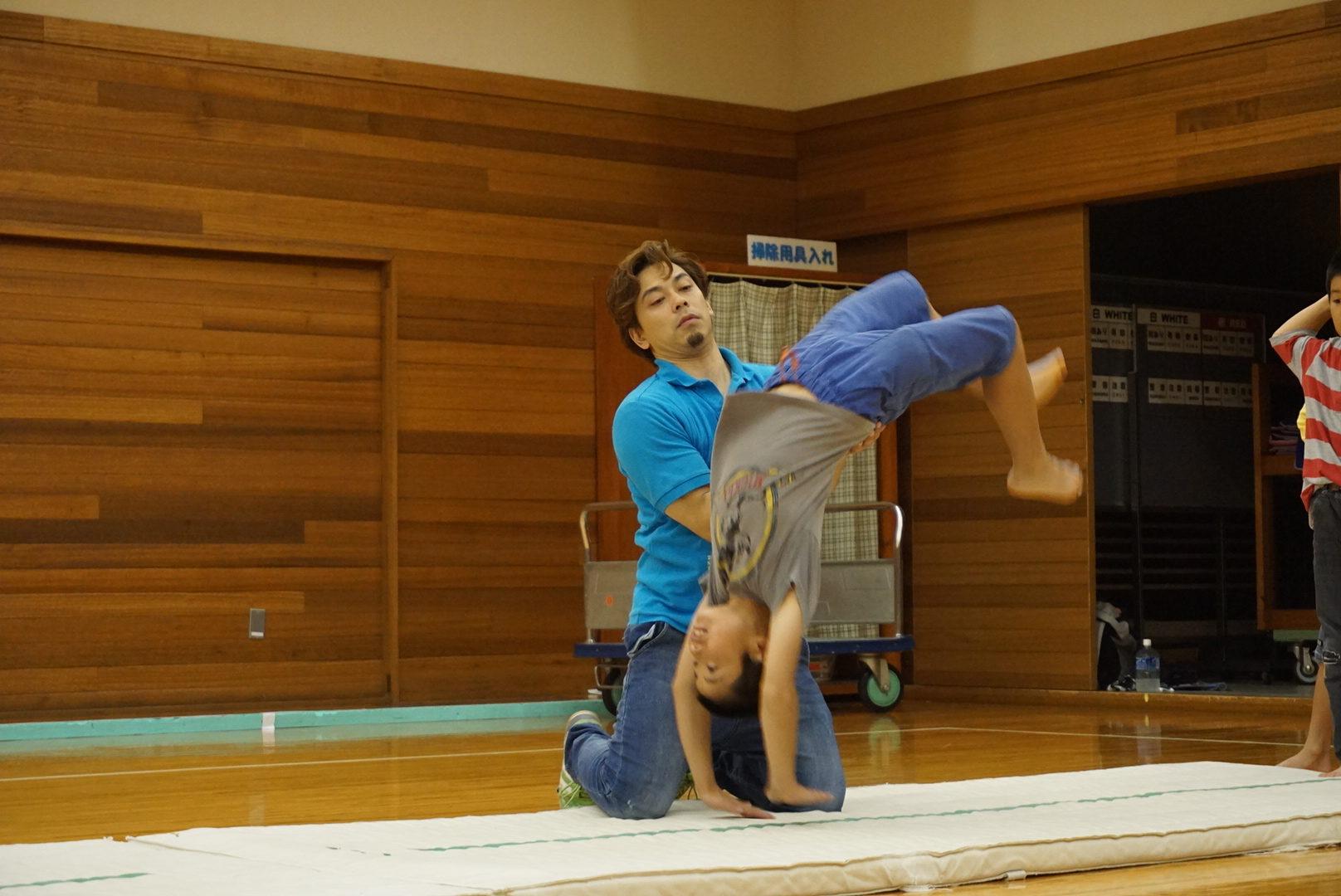 1月13日(水曜日)アクロバット体操参加者募集案内