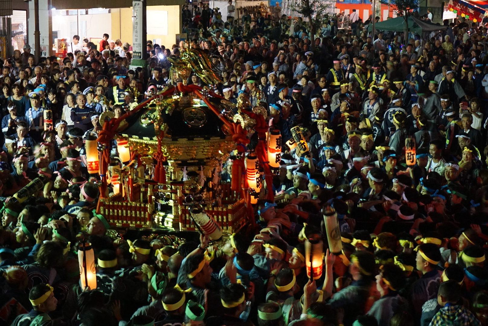 阿伎留神社例大祭2016