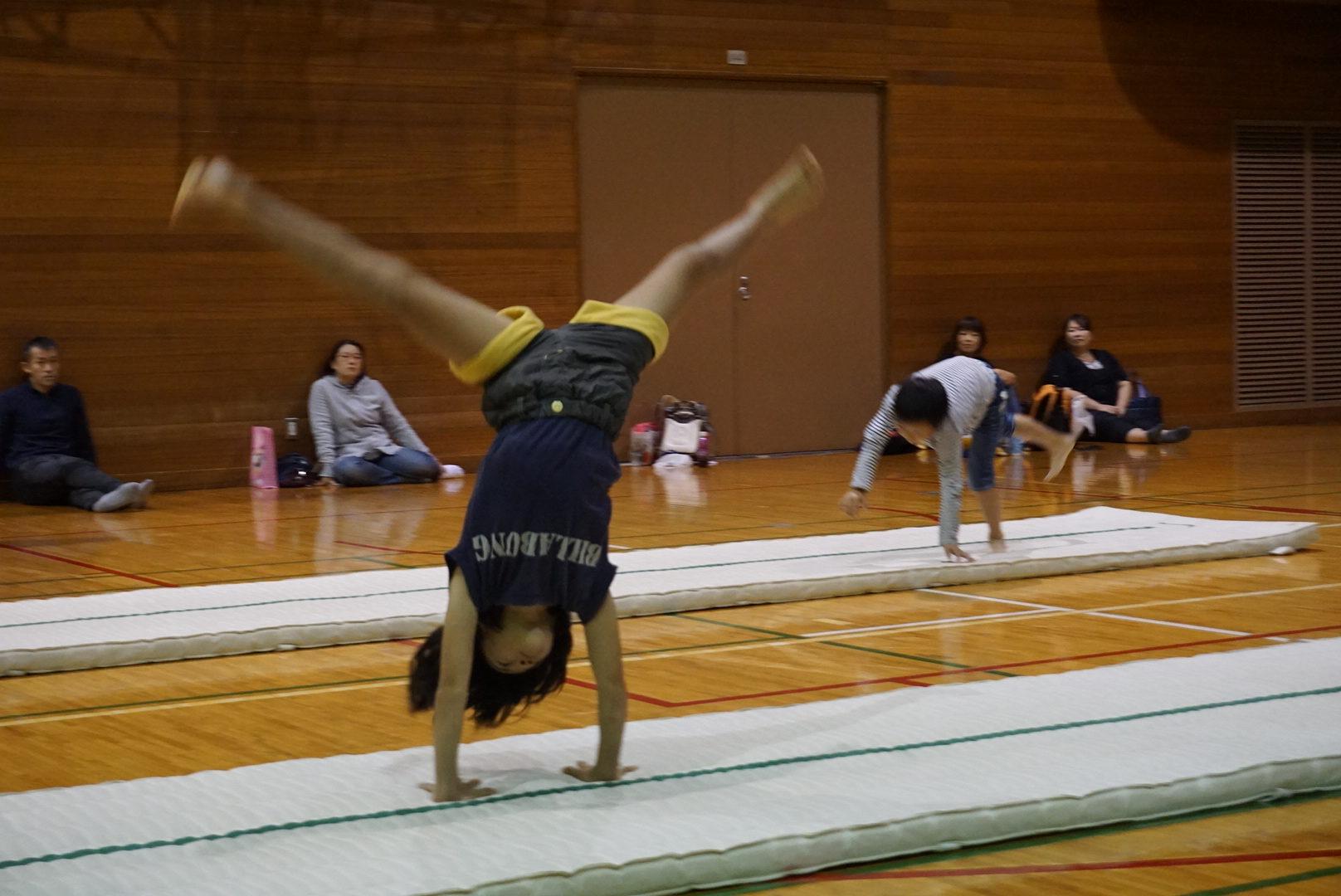 11月9日(水)のアクロバット体操参加者募集中
