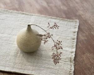 Mashiko Mini Flower Vase - Earth