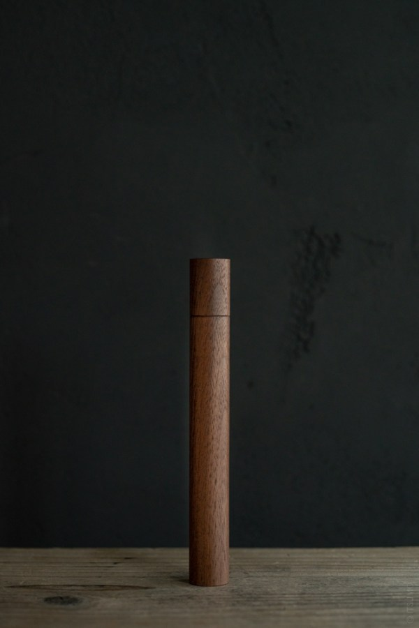 Kungyokudo_Incense Travel Case_Walnut_top