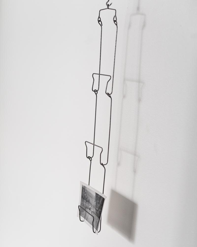 Osamu Saruyama_Metal Wire Folding Rack