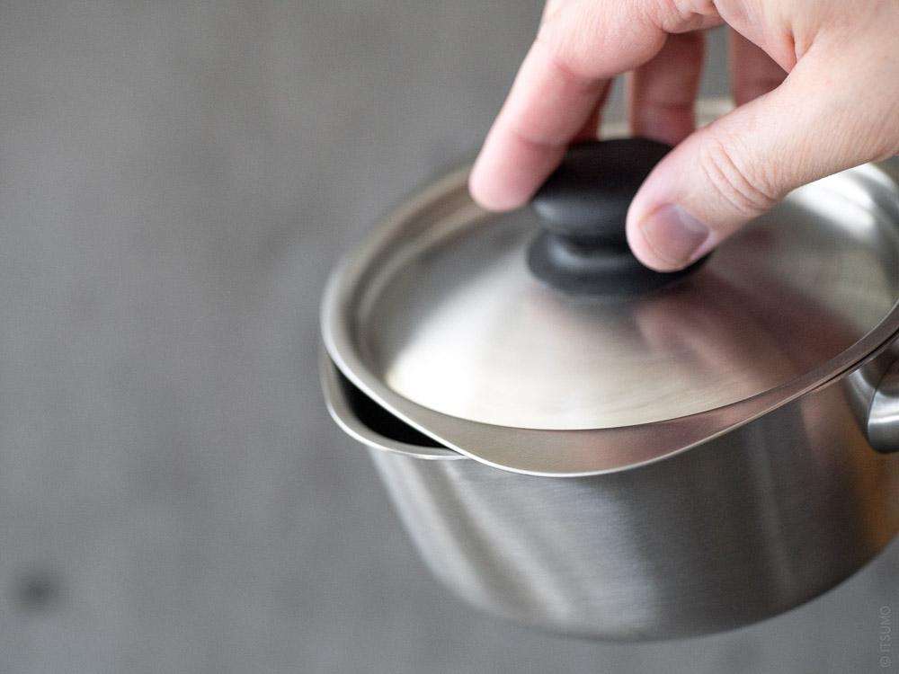 Sori Yanagi_Stainless Milk Pan
