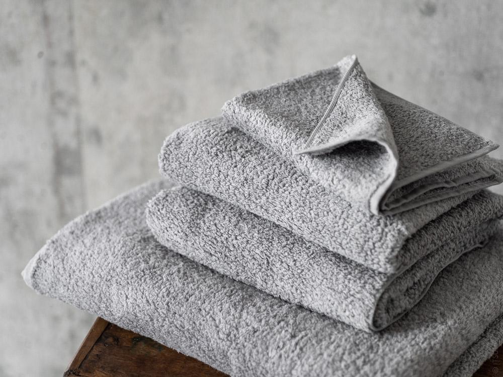 Uchino_CL Zero Twist Towel_grey