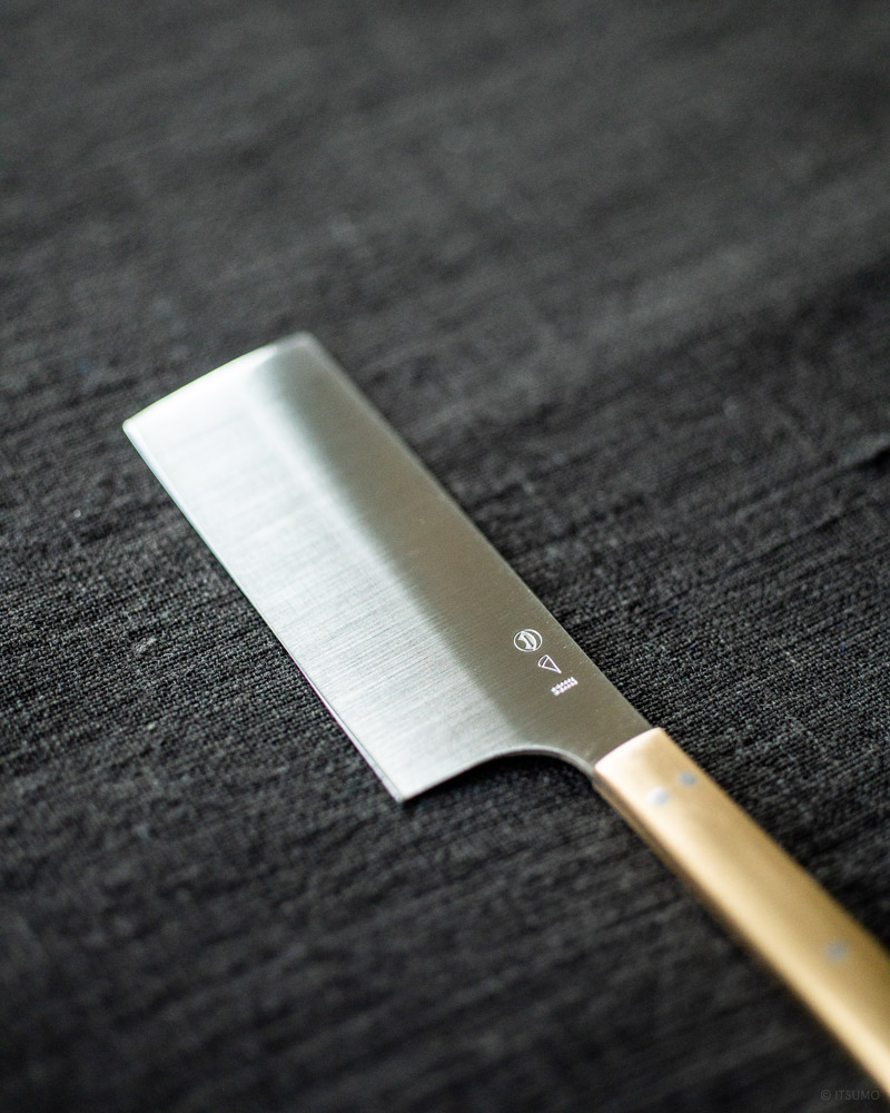 azmaya-cheese knife-brass stainless steel-3
