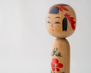 Vintage Kokeshi Doll - Ume