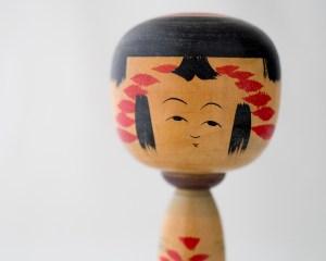 Vintage Kokeshi Doll - Ayame