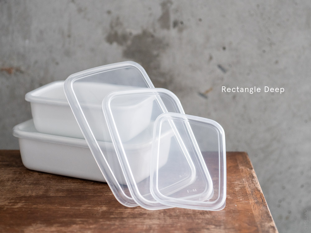 Noda Horo_Clear Lid for Rectangle Deep