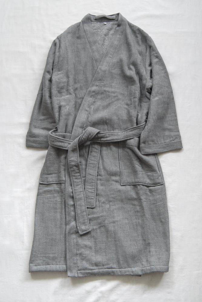 UCHINO_Sumi Gauze & Pile Robe_dl-3