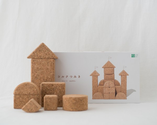 Cork Building Blocks - 20pcs