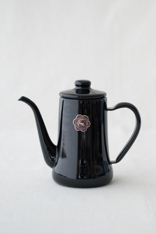 TSUKIUSAGI_Slim Pot_Black