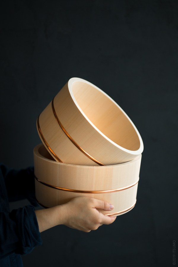 Azmaya_ Hinoki Bath Bowl_top
