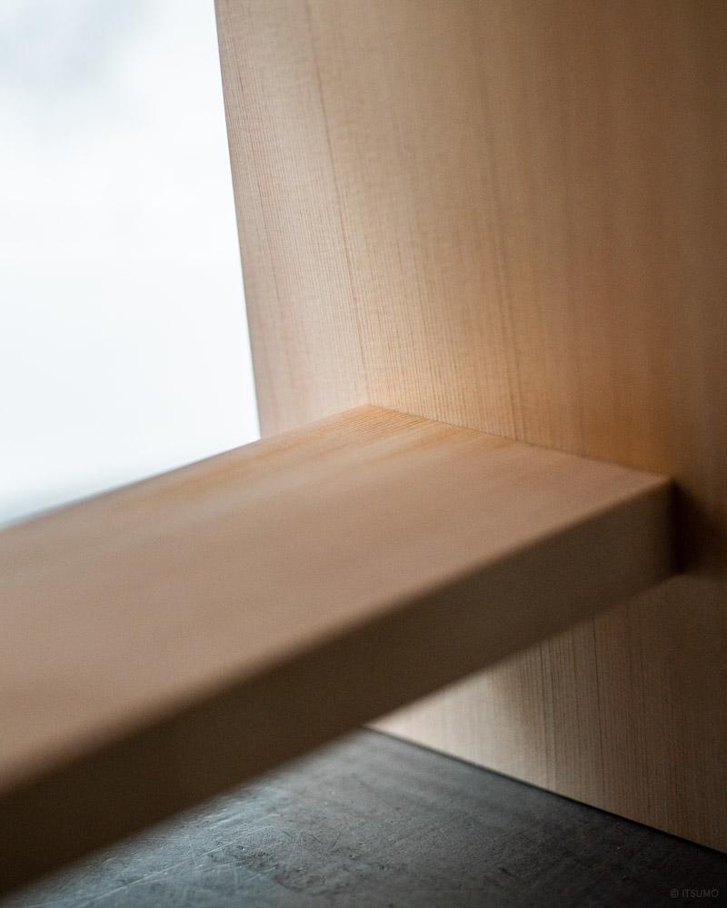 azmaya-hinoki bath stool-japanese cypress wood-3