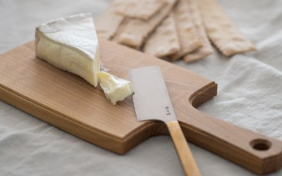 Cheese Board & Cheese Knife