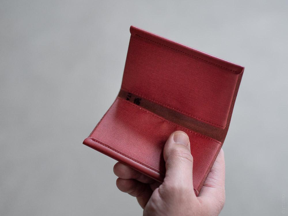 Postalco_Card Holder_brick red