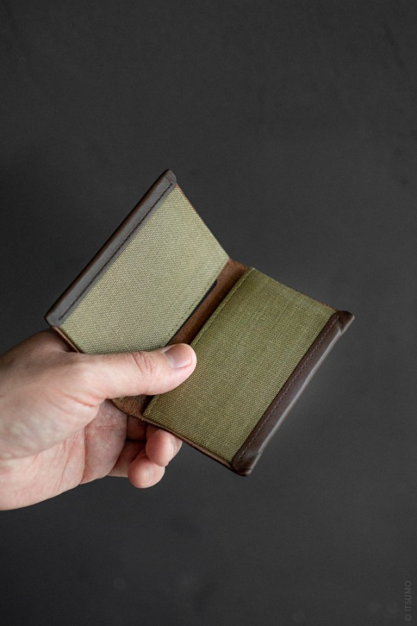 Postalco_Card Holder_olive green_top