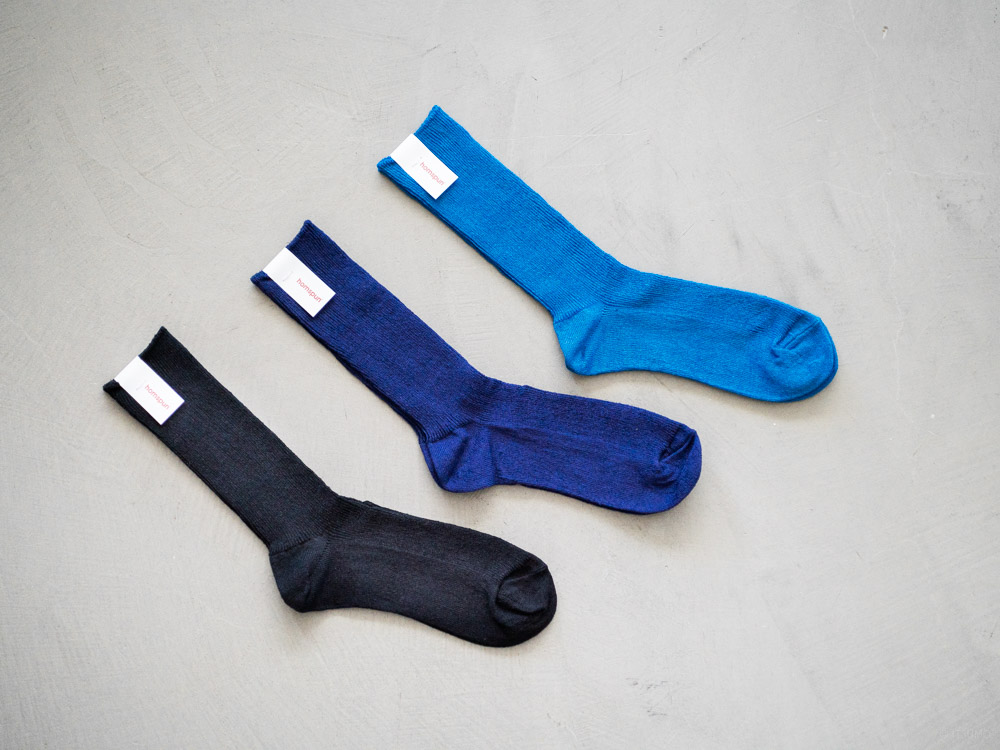 homspun-women's linen socks-2