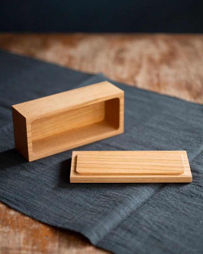 azmaya-cherry wood butter case-200g half-1