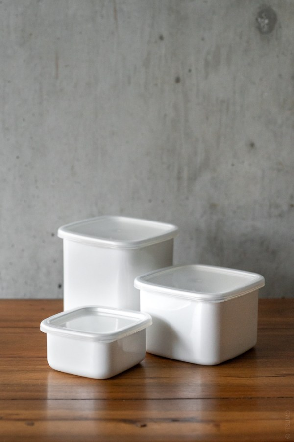 Noda Horo_Enamel Container_Square_top