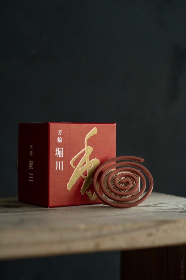 Shoyeido_Horin Incense Coil_Horikawa_River Path_top