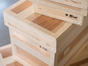 Azmaya_Cedar Tea Storage Box_tall & flat_dl