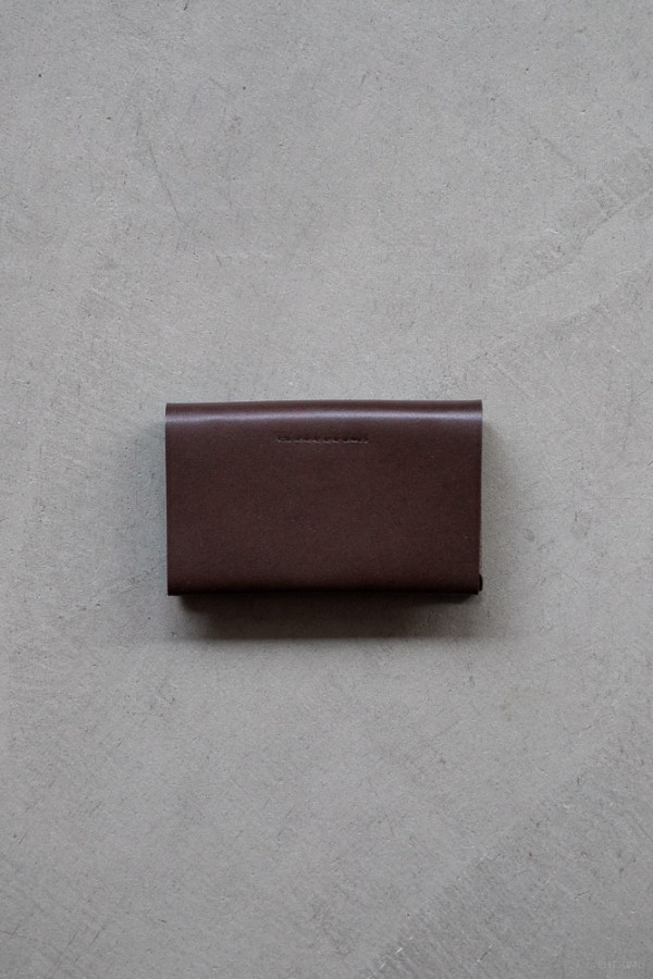 Postalco_Card Holder_brown_top
