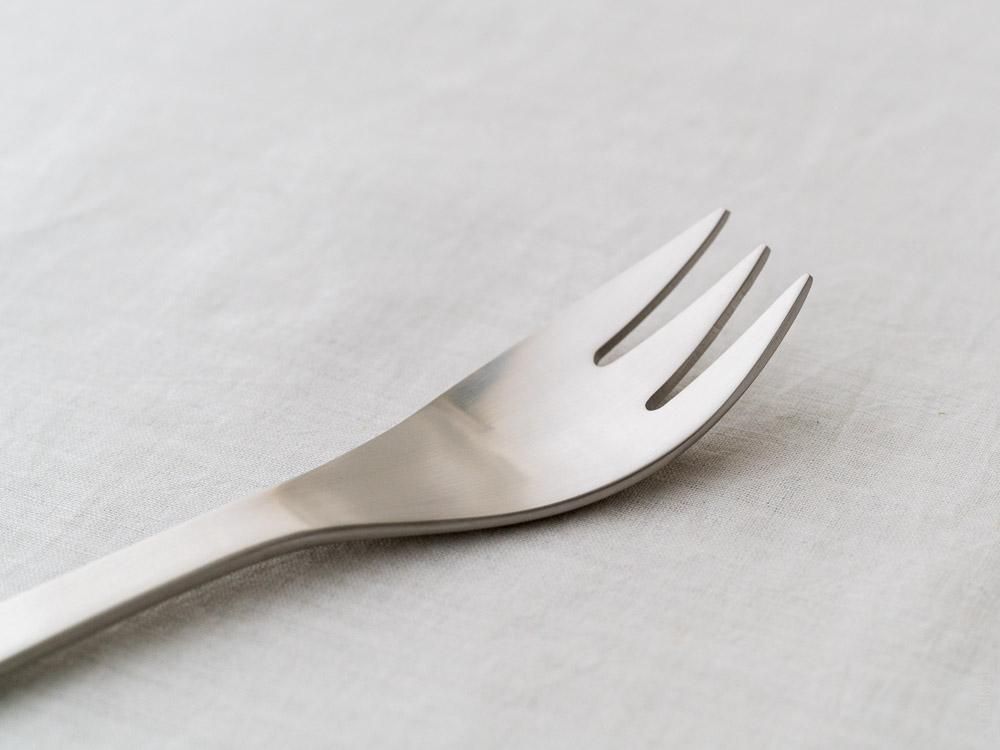 Sori Yanagi_Stainless Cutlery_Dessert Fork
