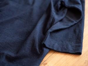 Homspun_3/4 Sleeve T-shirt_dark indigo_dl
